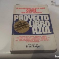 Libros de segunda mano: PROYECTO LIBRO AZUL. Lote 95307367
