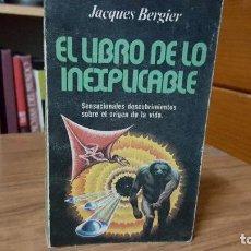 Libros de segunda mano: EL LIBRO DE LO INEXPLICABLE. Lote 95449311