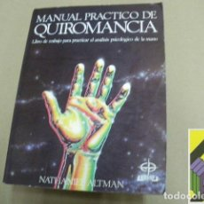 Libros de segunda mano: ALTMAN, NATHANIEL: MANUAL PRÁCTICO DE QUIROMANCIA. (TRAD:RAFAEL LASSALETTA). Lote 95803275
