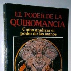 Libros de segunda mano: EL PODER DE LA QUIROMANCIA POR LEONARD WOLF DE DISTRIBUCIONES MATEOS EN MADRID 1989. Lote 95883231
