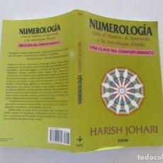 Libros de segunda mano: HARISH JOHARI. NUMEROLOGÍA. RMT82520. . Lote 96198851