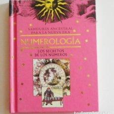 Libros de segunda mano: NUMEROLOGÍA - SECRETOS DE LOS NÚMEROS - LIBRO MISTERIO ESOTERISMO - CELESTIALES BÍBLICOS SALUD TAROT. Lote 97017675