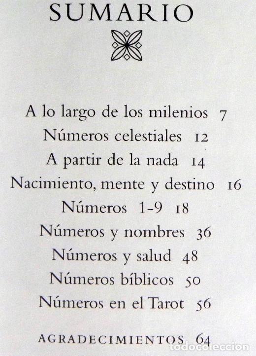 Libros de segunda mano: NUMEROLOGÍA - SECRETOS DE LOS NÚMEROS - LIBRO MISTERIO ESOTERISMO - CELESTIALES BÍBLICOS SALUD TAROT - Foto 2 - 97017675