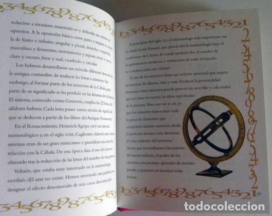 Libros de segunda mano: NUMEROLOGÍA - SECRETOS DE LOS NÚMEROS - LIBRO MISTERIO ESOTERISMO - CELESTIALES BÍBLICOS SALUD TAROT - Foto 3 - 97017675