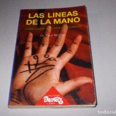 Libros de segunda mano: LAS LINEAS DE LA MANO, COMO LEERLAS E INTERPRETARLAS, DR. KLAUS BERGMAN. 1.989. Lote 97071075