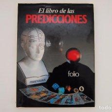 Libros de segunda mano: EL LIBRO DE LAS PREDICCIONES - ARTHUR BARKER - ED. FOLIO 1985. Lote 97248735
