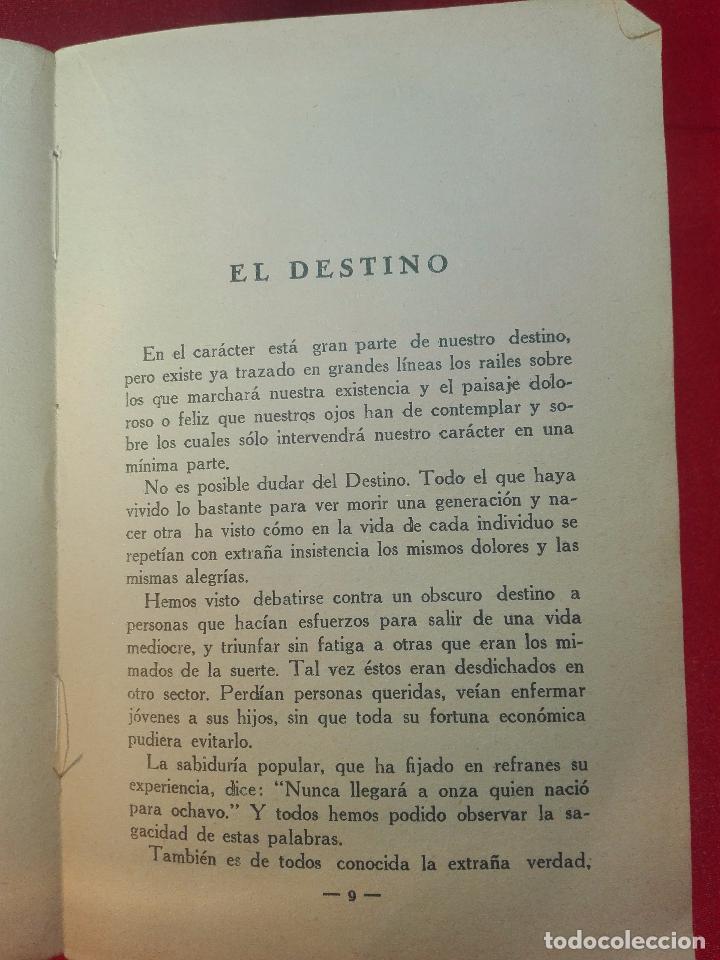 Libros de segunda mano: EL MAPA DEL DESTINO EN LA PALMA DE LA MANO - M. AGUILAR - MADRID - 1936 - 18 X 12 CM - 182 PP. - - Foto 3 - 97660831