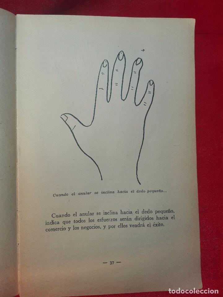 Libros de segunda mano: EL MAPA DEL DESTINO EN LA PALMA DE LA MANO - M. AGUILAR - MADRID - 1936 - 18 X 12 CM - 182 PP. - - Foto 5 - 97660831