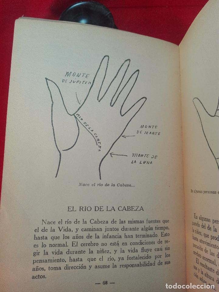 Libros de segunda mano: EL MAPA DEL DESTINO EN LA PALMA DE LA MANO - M. AGUILAR - MADRID - 1936 - 18 X 12 CM - 182 PP. - - Foto 6 - 97660831