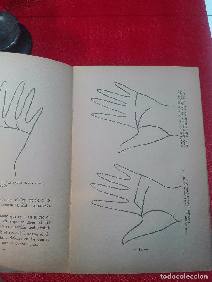 Libros de segunda mano: EL MAPA DEL DESTINO EN LA PALMA DE LA MANO - M. AGUILAR - MADRID - 1936 - 18 X 12 CM - 182 PP. - - Foto 7 - 97660831