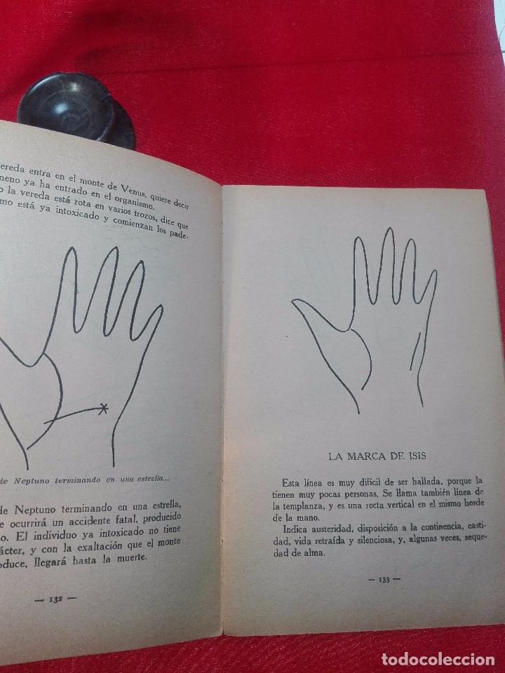 Libros de segunda mano: EL MAPA DEL DESTINO EN LA PALMA DE LA MANO - M. AGUILAR - MADRID - 1936 - 18 X 12 CM - 182 PP. - - Foto 8 - 97660831