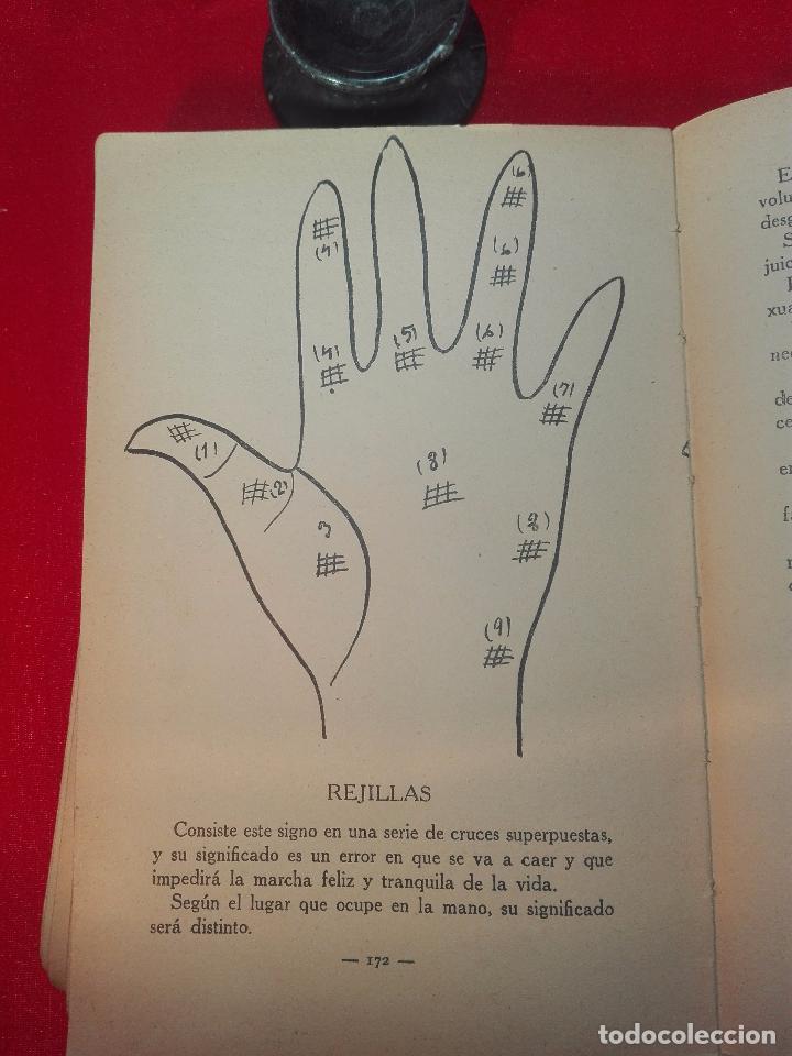Libros de segunda mano: EL MAPA DEL DESTINO EN LA PALMA DE LA MANO - M. AGUILAR - MADRID - 1936 - 18 X 12 CM - 182 PP. - - Foto 9 - 97660831
