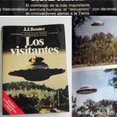 Libros de segunda mano: LOS VISITANTES - LIBRO JJ BENÍTEZ - UFOLOGÍA OVNIS JUAN JOSÉ MISTERIO OVNI CASOS FOTOS ENCUENTROS J. Lote 98384331