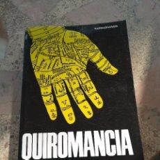 Libros de segunda mano: QUIROMANCIA DE KARMADHARAYA . Lote 98778799