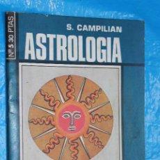 Livres d'occasion: ASTROLOGIA Nº 5, COLECCION CIENCIAS OCULTAS, S. CAMPILIAN. Lote 99386739