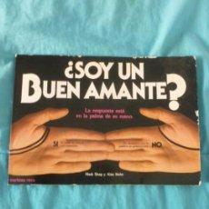 Libros de segunda mano: SOY UN BUEN AMANTE?. LA RESPUESTA ESTÁ EN LA PALMA DE SU MANO MARK SHAP/ ALAN KAH M.ROCA1982 60PP. Lote 100504043