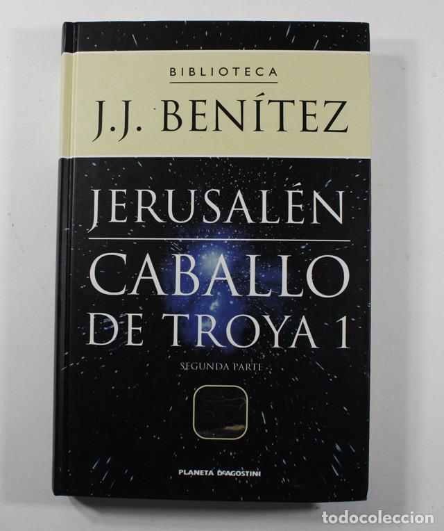 Libros de segunda mano: LOTE 6 TOMOS J.J.BENITEZ PLANETA DEAGOSTINI 1999 TAPA DURA NUEVOS, VER IMAGENES - Foto 3 - 101160211