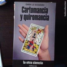 Libros de segunda mano: CARTOMANCIA Y QUIROMANCIA? GWEN LE SCONEZEC. Lote 101662534
