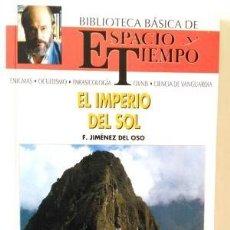 Livres d'occasion: EL IMPERIO DEL SOL. F. JIMÉNEZ DEL OSO. Lote 101931975
