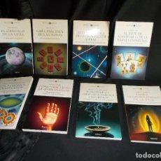 Libros de segunda mano: LOTE DE 8 LIBROS DE ESOTERISMO Y CRECIMIENTO PERSONAL. COLECCIÓN BIBLIOTECA DE LA NUEVA ERA, SALVAT.. Lote 103917463