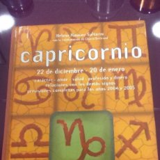 Libros de segunda mano:  CAPRICORNIO - HELENE KINAUER SALTARINI. Lote 104735455