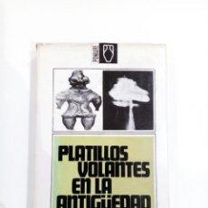 Libros de segunda mano: PLATILLOS VOLANTES EN LA ANTIGUEDAD EUGENIO DANYANS UFOLOGIA OVNIS EXTRATERRESTRES. Lote 105704424