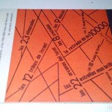 Libros de segunda mano: ENCICLOPEDIA DE LOS NUMEROS-DEL DIOS UNO DE MONOTEISMO, A LOS 100.000 HIJOS DE SAN LM ASENSIO MORENO. Lote 105852835