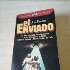 Libros de segunda mano: LIBRO EL ENIADO DE JJ BENITEZ PRIMERA EDICION FEBRERO 1982 TAPA BLANDA. Lote 106163027