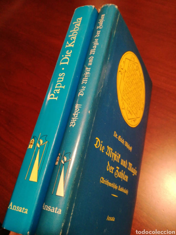 Libros de segunda mano: LA CÁBALA - LA MÍSTICA Y MAGIA DE LOS NÚMEROS (EN ALEMÁN, VER FOTOS) - Foto 3 - 107517427