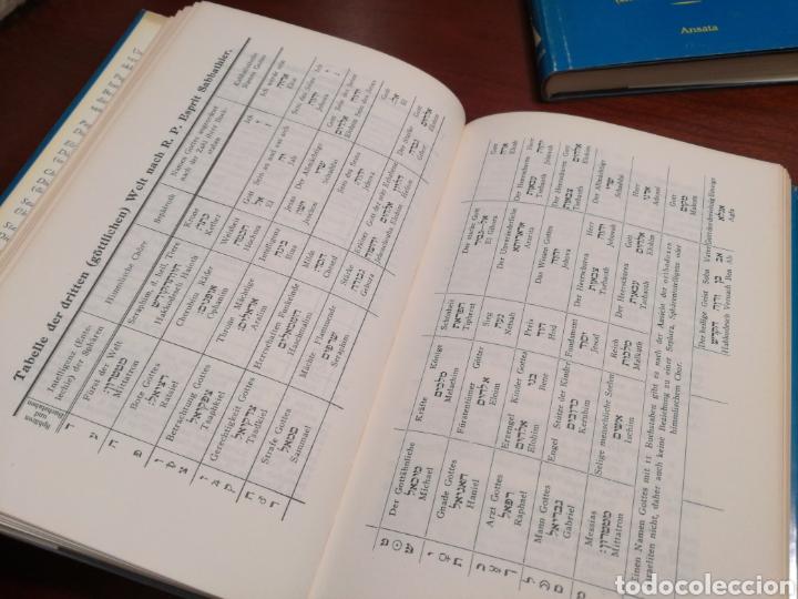 Libros de segunda mano: LA CÁBALA - LA MÍSTICA Y MAGIA DE LOS NÚMEROS (EN ALEMÁN, VER FOTOS) - Foto 7 - 107517427