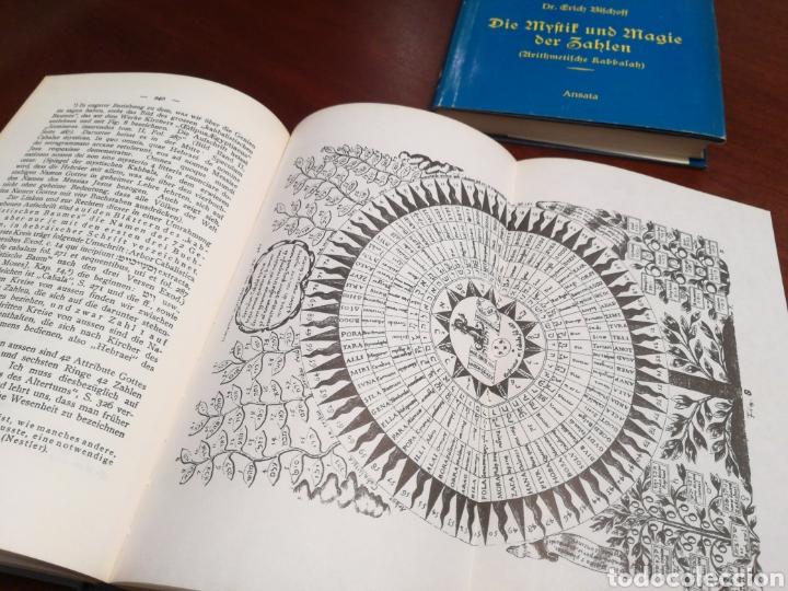 LA CÁBALA - LA MÍSTICA Y MAGIA DE LOS NÚMEROS (EN ALEMÁN, VER FOTOS) (Libros de Segunda Mano - Parapsicología y Esoterismo - Numerología y Quiromancia)