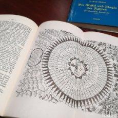 Libros de segunda mano: LA CÁBALA - LA MÍSTICA Y MAGIA DE LOS NÚMEROS (EN ALEMÁN, VER FOTOS). Lote 107517427