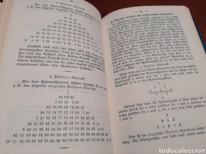 Libros de segunda mano: LA CÁBALA - LA MÍSTICA Y MAGIA DE LOS NÚMEROS (EN ALEMÁN, VER FOTOS) - Foto 10 - 107517427