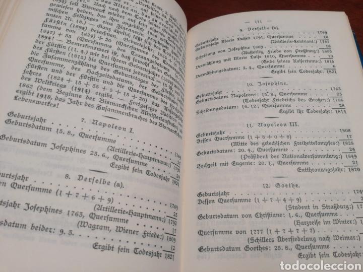 Libros de segunda mano: LA CÁBALA - LA MÍSTICA Y MAGIA DE LOS NÚMEROS (EN ALEMÁN, VER FOTOS) - Foto 11 - 107517427