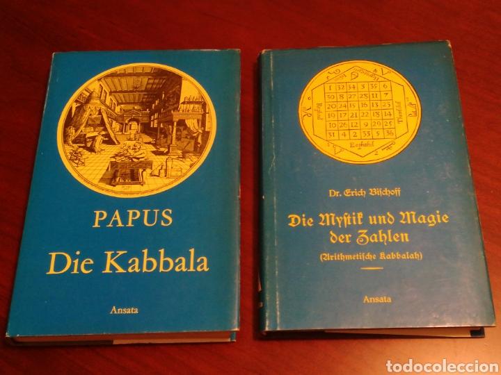 Libros de segunda mano: LA CÁBALA - LA MÍSTICA Y MAGIA DE LOS NÚMEROS (EN ALEMÁN, VER FOTOS) - Foto 2 - 107517427