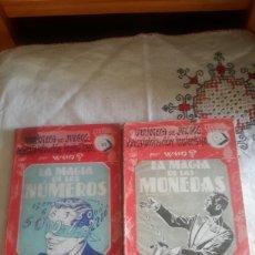 Libros de segunda mano: LA MAGIA DE LAS MONEDAS Y LA MAGIA DE LOS NÚMEROS. Lote 108806128