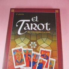 Libros de segunda mano: LIBRO-TAROT,SU IERPRETACIÓN-4ªEDICIÓN--ANTONIO PERALTA-2002-ED.SIRIO-NUEVO-VER FOTOS. Lote 109295971