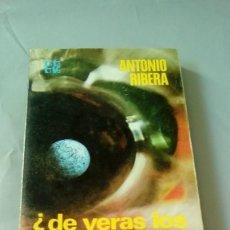 Libros de segunda mano: ¿DE VERAS LOS OVNIS NOS VIGILAN?.- ANTONIO RIBERA. Lote 110140799