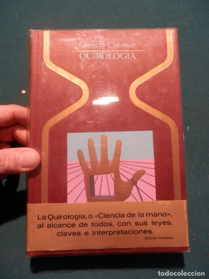 QUIROLOGIA - LIBRO DE ORENCIA COLOMAR - FOTOS Y ILUS. EN B/N - COLECCIÓN OTROS MUNDOS (Libros de Segunda Mano - Parapsicología y Esoterismo - Numerología y Quiromancia)