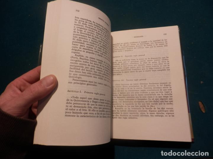 Libros de segunda mano: QUIROLOGIA - LIBRO DE ORENCIA COLOMAR - FOTOS Y ILUS. EN B/N - COLECCIÓN OTROS MUNDOS - Foto 2 - 145924369
