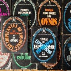 Libros de segunda mano: LOTE DE 10 LIBROS BIBLIOTECA BASICA DE LOS TEMAS OCULTOS OVNIS HIPNOSIS UFOLOGIA - TAMBIEN SUELTOS. Lote 112309763