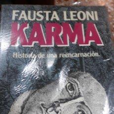 Libros de segunda mano: LIBRO.-KARMA.-HIA.DE UNA REENCARNACION. Lote 113377507