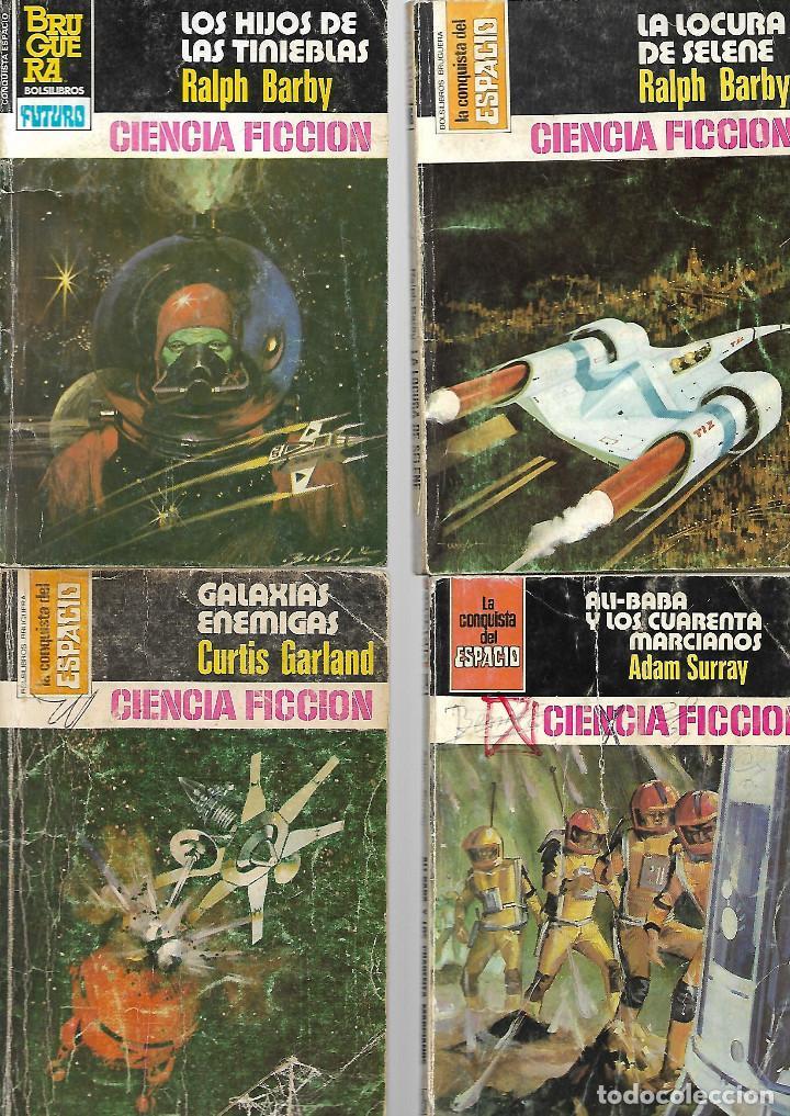 Libros de segunda mano: PEQUEÑA COLECCION DE 14 TITULOS DE ciencia ficcion años 70/80 VER FOTOS - Foto 2 - 116836711