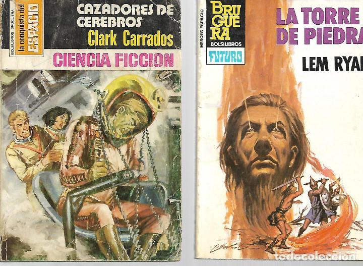 Libros de segunda mano: PEQUEÑA COLECCION DE 14 TITULOS DE ciencia ficcion años 70/80 VER FOTOS - Foto 4 - 116836711