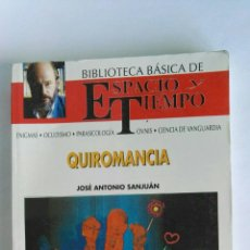 Libros de segunda mano: QUIROMANCIA JOSÉ ANTONIO SANJUÀN. Lote 118399856