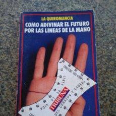 Libros de segunda mano: LA QUIROMANCIA - COMO ADIVINAR EL FUTURO POR LAS LINEAS DE LA MANO -- TRIBUNA 1990 --. Lote 119291027