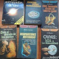 Libros de segunda mano: 6 LIBROS UFOLOGIA JJ BENITEZ Y OTRO. Lote 119550127