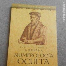 Libros de segunda mano: NUMEROLOGIA OCULTA. Lote 122004467