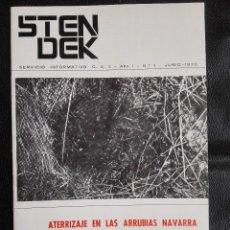 Libros de segunda mano: REVISTA STENDEK Nº 1 CENTRO DE ESTUDIOS INTERPLANETARIOS JUNIO 1970 OVNI UFOLOGÍA. Lote 124470327
