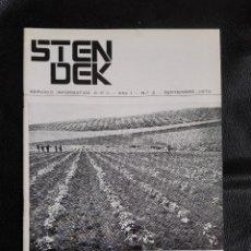 Libros de segunda mano: REVISTA STENDEK Nº 2 CENTRO DE ESTUDIOS INTERPLANETARIOS SEPTIEMBRE 1970 OVNI UFOLOGÍA. Lote 124470335